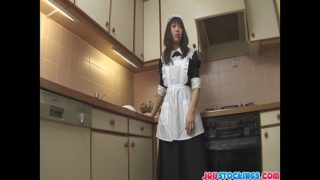 Horny Aiuchi Shiori wildest food insertion action