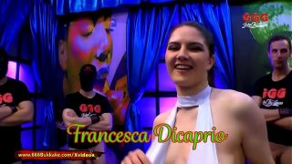 Francesca Dicaprio Pissed on and fucked hard – 666Bukkake
