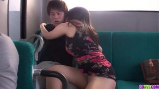 Superb Chinatsu Kurusu fucked hard in public XXX – More at 69avs com